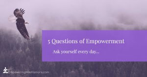 Thoughts - 5 Questions of Empowerment
