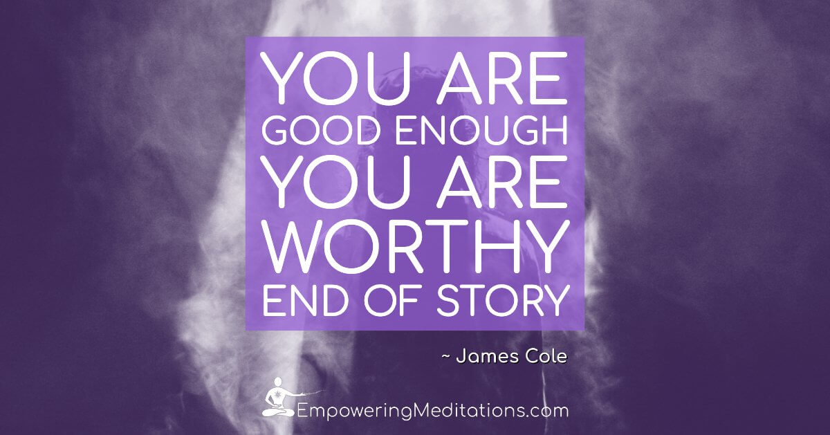 You are good enough - Page