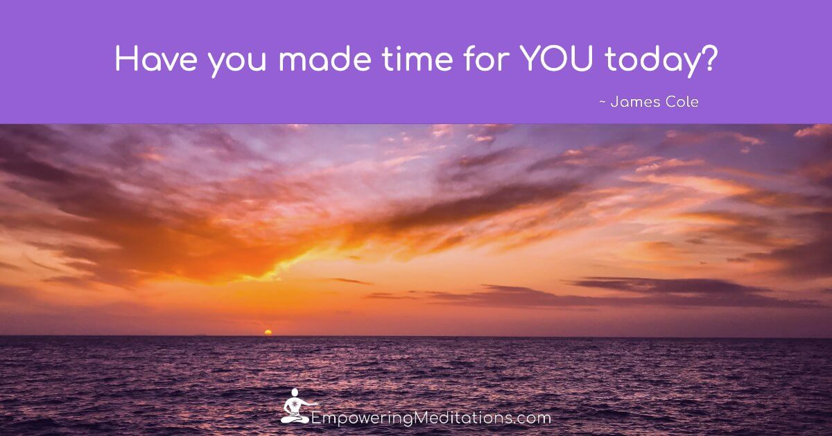 Meme - Have you made time for YOU today - Page