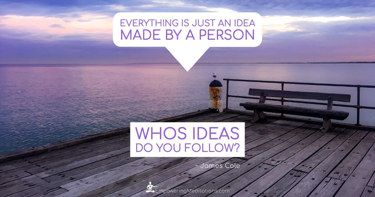 Meme - Everything is just an idea made by a person - Page