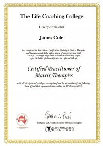 TLCC-CertificatesPractitioner-of-Matrix-Therapies